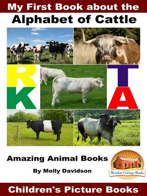 cover image of My First Book about the Alphabet of Cattle