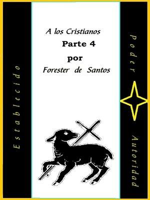 cover image of A Los Cristianos Parte 4