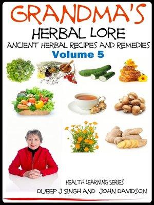 cover image of Grandma's Herbal Lore
