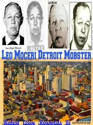 cover image of Leonard Moceri Detroit Mobster
