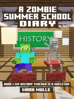 cover image of A Zombie Summer School Diary, Book 1