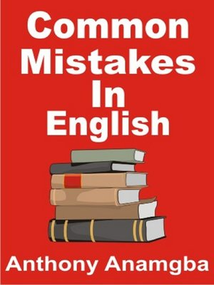 Common Mistakes In English Ebook