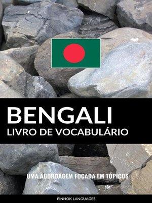 cover image of Livro de Vocabulário Bengali