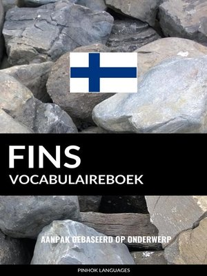 cover image of Fins vocabulaireboek