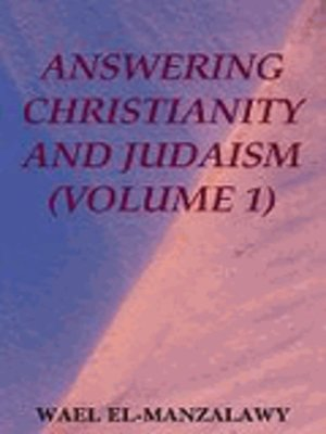 cover image of Answering Christianity and Judaism (Volume 1)