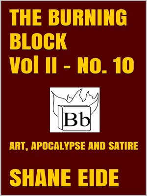 cover image of The Burning Block No. 10