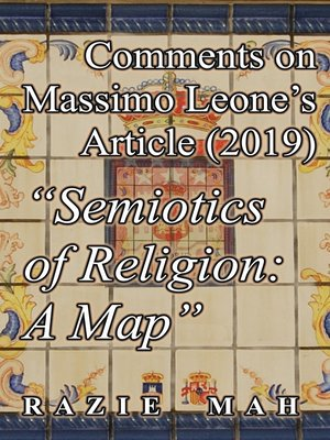 """cover image of Comments on Massimo Leone's Article (2019) """"Semiotics of Religion"""