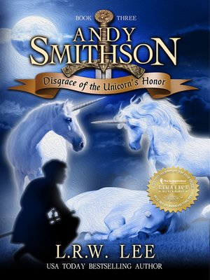cover image of Disgrace of the Unicorn's Honor (Andy Smithson Book Three)
