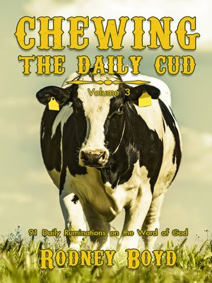cover image of Chewing the Daily Cud, Volume 3