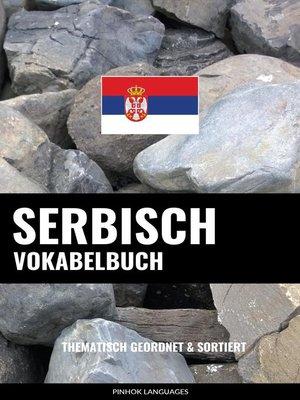 cover image of Serbisch Vokabelbuch
