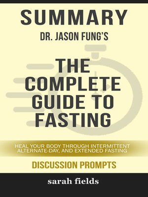 cover image of Summary of the Complete Guide to Fasting