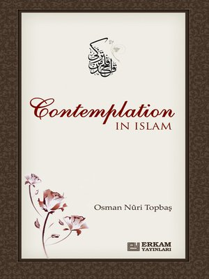 cover image of Contemplation In Islam
