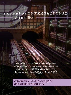 cover image of narratorINTERNATIONAL Volume Two