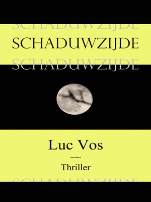 cover image of Schaduwzijde