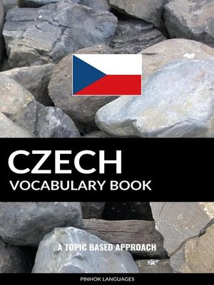cover image of Czech Vocabulary Book