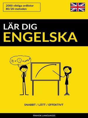 cover image of Lär dig Engelska