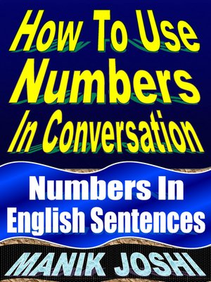 cover image of How to Use Numbers in Conversation