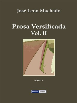 cover image of Prosa Versificada II