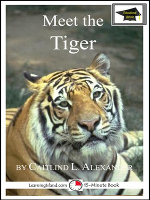 cover image of Meet the Tiger