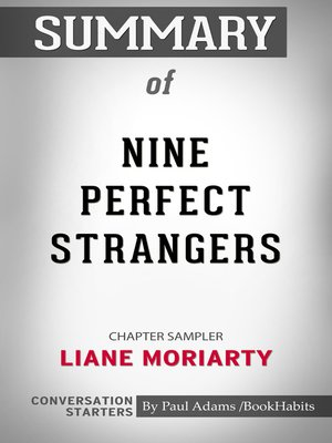 cover image of Summary of Nine Perfect Strangers by Liane Moriarty / Conversation Starters