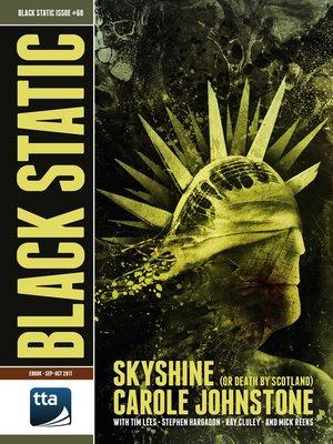 cover image of Black Static #60 (September-October 2017)