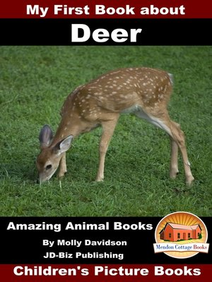 cover image of My First Book about Deer