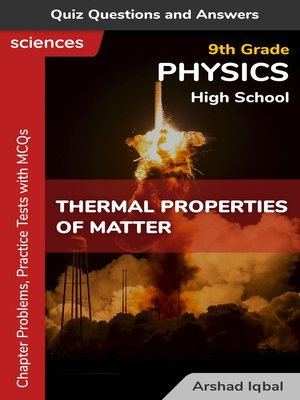cover image of Thermal Properties of Matter Multiple Choice Questions and Answers (MCQs)