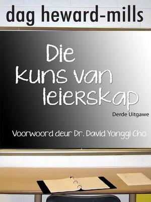cover image of Die kuns van leierskap