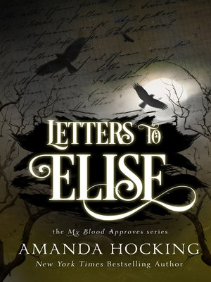 cover image of Letters to Elise