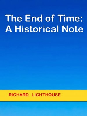 cover image of The End of Time
