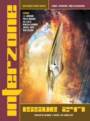 cover image of Interzone #247 Jul
