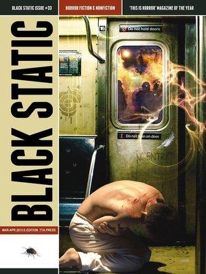 cover image of Black Static #33 Horror Magazine