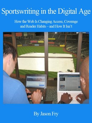 cover image of Sportswriting in the Digital Age