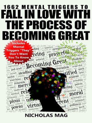 cover image of 1662 Mental Triggers to Fall In Love With the Process of Becoming Great