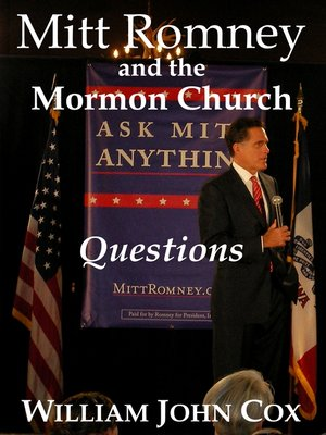 cover image of Mitt Romney and the Mormon Church