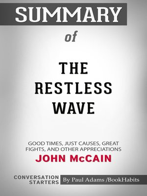 cover image of Summary of the Restless Wave