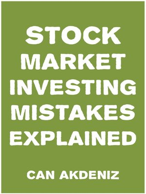 cover image of Stock Market Investing Mistakes Explained