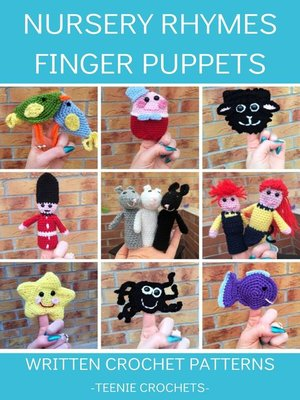 cover image of Nursery Rhyme Finger Puppets