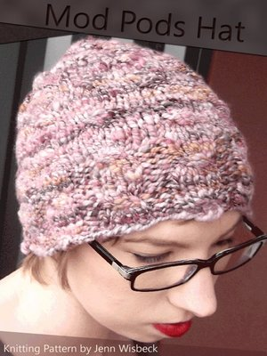 cover image of Mod Pods Hat Knitting Pattern