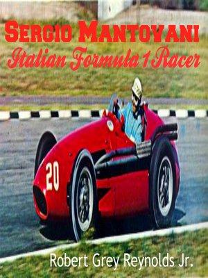 cover image of Sergio Mantovani Maserati Formula 1 Racer