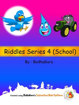 cover image of Riddles Series 4 (School)