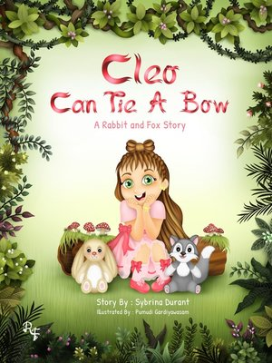 cover image of Cleo Can Tie a Bow