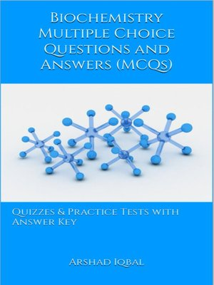 cover image of Biochemistry Multiple Choice Questions and Answers (MCQs)