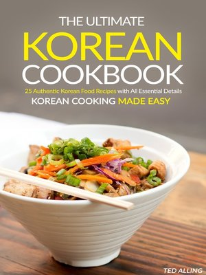 cover image of The Ultimate Korean Cookbook
