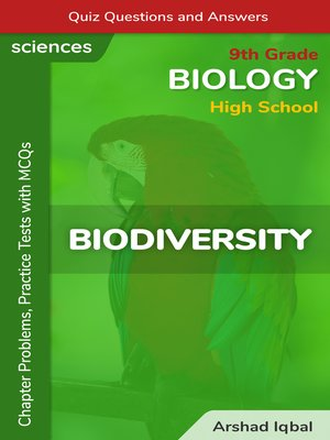 cover image of Biodiversity Multiple Choice Questions and Answers (MCQs)