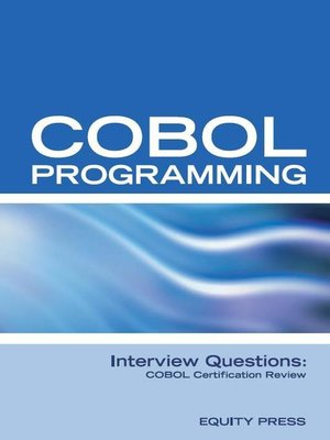 cover image of COBOL Programming Interview Questions