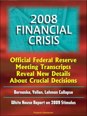 cover image of 2008 Financial Crisis