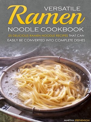 cover image of Versatile Ramen Noodle Cookbook