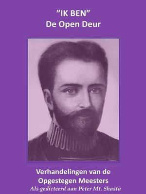 cover image of IK BEN De Open Deur