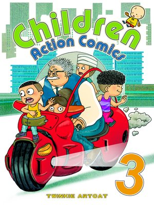 cover image of Children Action Comics 3